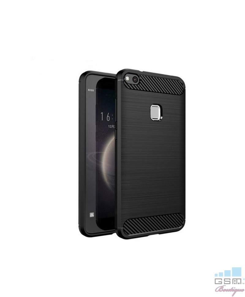 Husa Carbon Fiber Nokia 7 Albastra