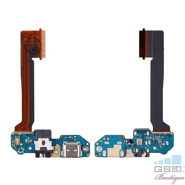 Banda Flex Cu Conector Incarcare Microfon Si Jack Audio HTC One M9 Plus