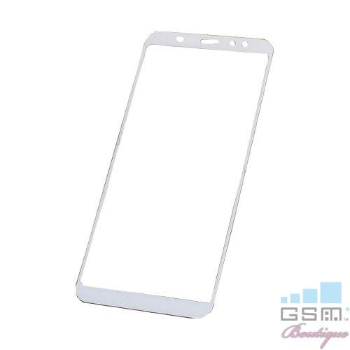 Geam Sticla Samsung Galaxy A6 Plus 2018 Alb