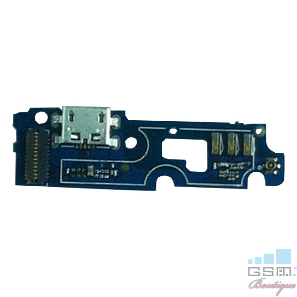 Placa Circuit Cu Conector Incarcare Si Microfon Lenovo P70 Originala