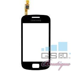 Geam Cu Touchscreen Samsung Galaxy mini 2 S6500 Negru