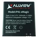 Acumulator Allview P41 eMagic Original Li-Ion 3.7V 1400 mAh 5.18Wh