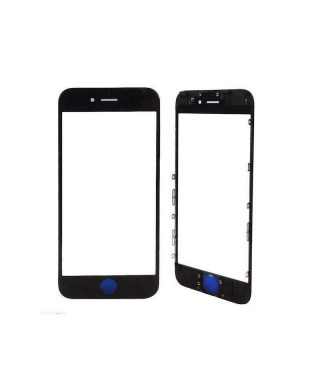 Geam cu Rama + OCA Apple Iphone 6S Plus Negru