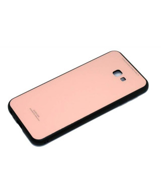 Husa Glass Case Samsung Galaxy A9 (2018) SM A920F Roz