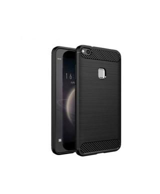 Husa Carbon Fiber Samsung Galaxy Note 10 Plus, SM N975F Neagra