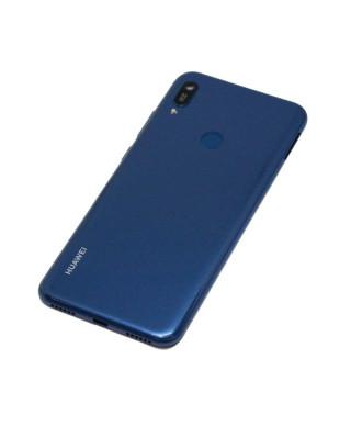 Capac Baterie Huawei Y6 (2019) Albastru , Versiune cu Fingerprint