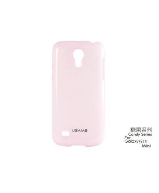 Husa Usams Candy Series Samsung Galaxy S4 Mini i9190 Roz