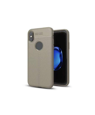 Husa Luxury Soft TPU Lychee Samsung Galaxy S9 G960F Gri