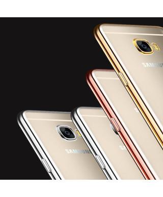 Husa Plating Samsung Galaxy A3 (2017) A320 Neagra