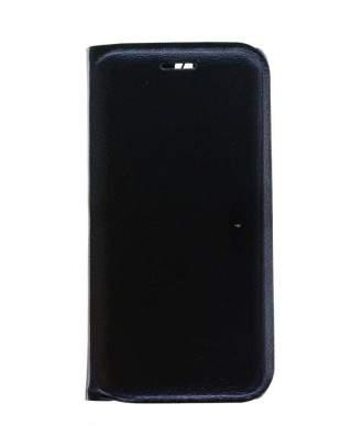 Husa Flip Cover Samsung Galaxy A8 Plus 2018, A730, Negru