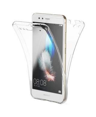 Husa Fata + Spate Transparent Samsung Galaxy A8+, A8 Plus (2018), A730