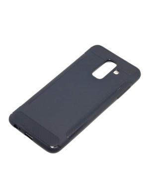Husa TPU Case Wing Series Samsung Galaxy J7 (2018) Albastra