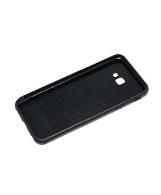 Husa Glass Case Samsung Galaxy J6+, J6 Plus Neagra