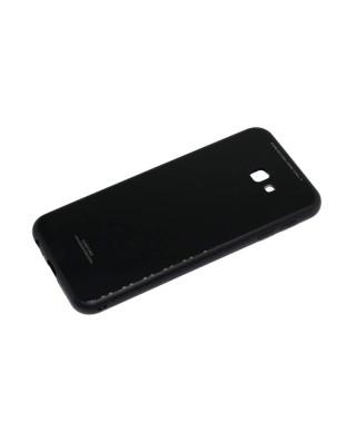 Husa Glass Case Samsung Galaxy J6+, J6 Plus Alba