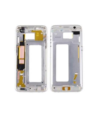 Mijloc Samsung Galaxy S7 edge G935 Alb