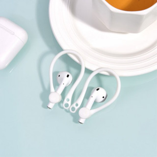 Adaptor Tip Suport Ureche Apple Airpods Alb