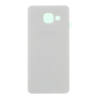 Capac Baterie Spate Samsung Galaxy A3 A310 2016 Cu Adeziv Sticker Alb