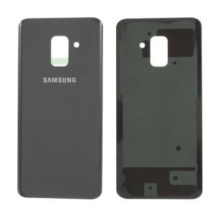 Capac Baterie Spate Samsung Galaxy A8 2018 Cu Adeziv Sticker Gri