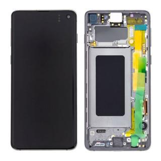 Display Cu Touchscreen Samsung Galaxy S10 G973 Original Negru