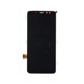 Display Samsung Galaxy A8 2018 Original Negru