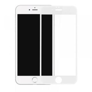Folie Sticla iPhone 6 iPhone 6s Acoperire Completa 6D Alba