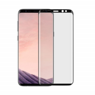 Folie Sticla Samsung Galaxy S9 Plus G965 Protectie Display Acoperire Completa Neagra
