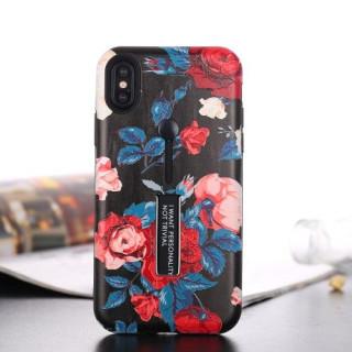 Husa Cu Stand iPhone X Dura Colorata