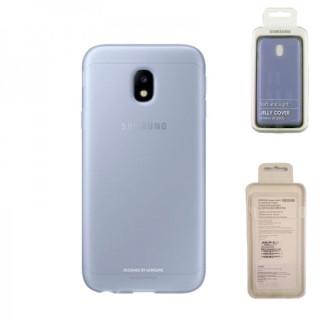 Husa Samsung Galaxy J3 J330 2017 EF-AJ330TLEGWW Silicon Albastra