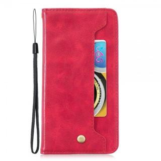 Husa Samsung Galaxy Note 10 Flip Cu Stand Rosie