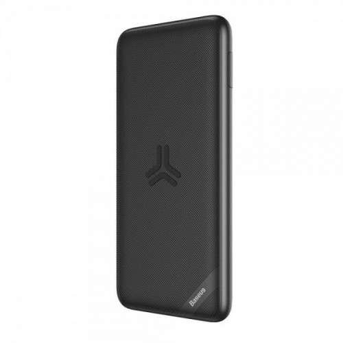 Acumulator Extern Samsung Huawei iPhone LG Nokia Cu Incarcare Wireless Power Bank 10000mAh Negru
